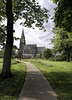 Parish Church of St. Mary The Virgin,  West Rainton (Durham George) Tags: rainton mary virgin church cathedral tree path