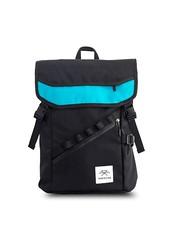 Mheecha Alley Backpack Black-Teal (smartdokonp) Tags: online shopping nepal smartdoko bags bag backpack mheecha alley blue black