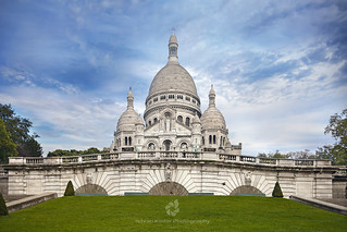 Sacre-Coeur Basilica on The Mound Montmartre