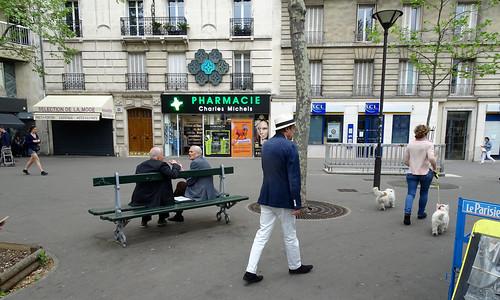 Paris 15ème Place Charles Michels-2