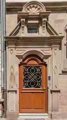 25 rue Sleidan (Zéphyrios) Tags: strasbourg alsace basrhin grandest d7000 nikon neustadt carlhildebrand xx stylelouisxv coquille ferronnerie