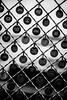 New Market Fence (Pye42) Tags: pikeplacemarket publicmarket seattle washington art blackwhite chainlink fence unitedstates