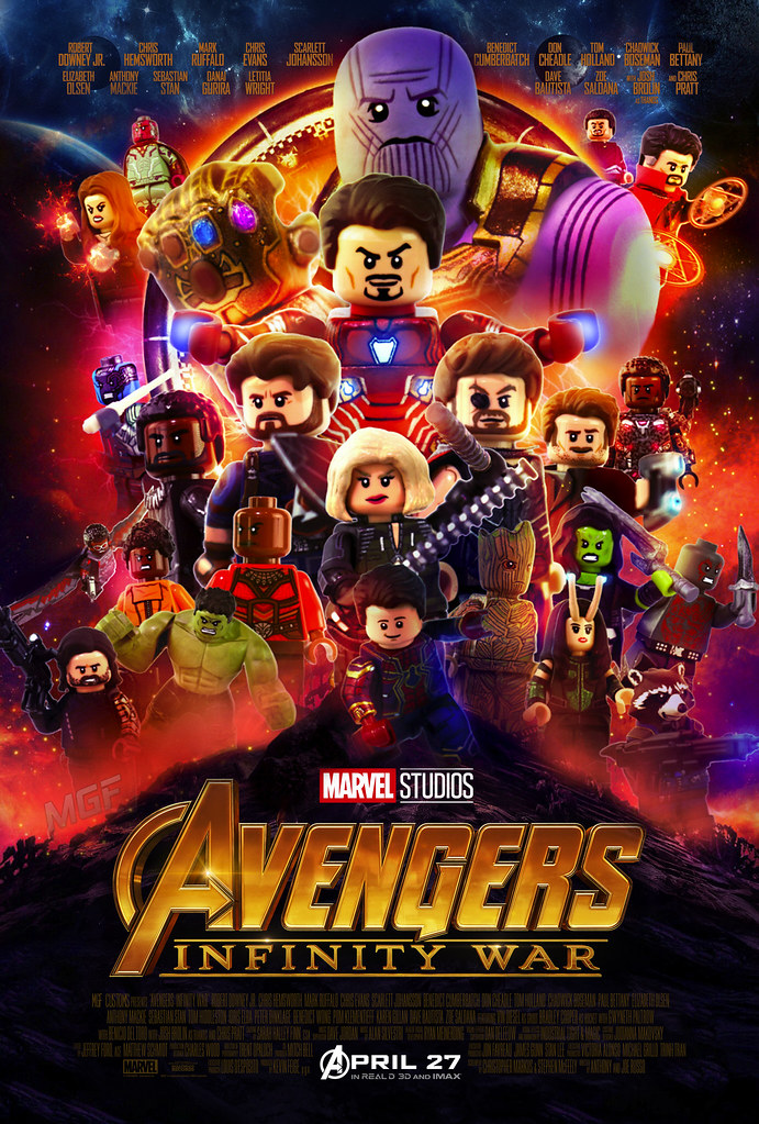 Lego Avengers Infinity War Ausmalbilder: The World's Best Photos Of Lego And Thor