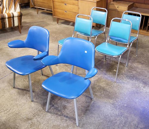 Set of 6 Retro Chairs