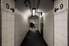 Meanwhile on Platform 9 - Moorgate (Luke Agbaimoni (last rounds)) Tags: blackandwhite monochrome streetphotography tunnel tunnelvision perspective nine