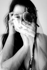 Photographer (Andrés Gallego) Tags: dobleexposicion nikon doubleexposure d750 bw blancoynegro blackwhite black double doble portrait retrato