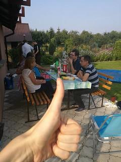 27.08.2017 - spotkanie integracyjne diakonii ewangelizacji przy Grilu w Żorach