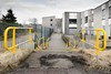 Skool's out (amcgdesigns) Tags: andrewmcgavin upperachintoreprimaryschool decay decayed urbandecay eos7dmk2 canon1022mm fortwilliam yellow leadinglines bleak