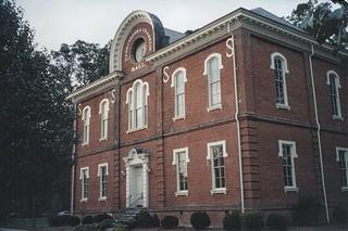 Ashland Virginia  -  Randolph Macon College - Washington and Franklin Hall  - Historic
