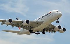 Air France A380-861 F-HPJA (aleks_cal) Tags: losangeles airfrance a380 airbus airbus380 landing airport plane avion airplane