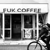 Fukouka Coffee (josefrancisco.salgado) Tags: apple bw fukuoka japan bicicleta bicycle blackwhite blancoynegro grayscale iphone iphone8plus monochrome streetphotography fukuokashi fukuokaken jp