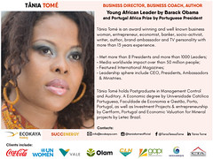 Ambassador & Coach Tania Tome (mbusinessmozmagazine) Tags: tania tome ambassador mipad africachallenge brazil vale cln cocacola coach international advisor guru african olam africa most influential pepole people 100 tânia tomé un united nations women entrepreneurship leadership partner partnership business