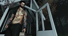 † 1020 † (Nospherato Destiny) Tags: secondlife sl avatar event blogger tattoo beard guy malefashion virtual gild avenge barbershop cosmopolitan dappa hipstermenevent menonlymonthly mom ultra volkstone tonktastic