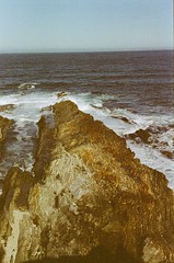 Layers of Time (Caroline Kutchka Folger) Tags: layers texture stone rock geology california roadtrip springbreak march2018 colorfilm analog film 35mm 35mmfilm canonrebel analogcanon californiacoast canonrebels westcoast analogphotography