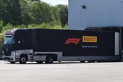 GN17VXF L3395 Eddie Stobart Mercedes in Pirelli livery (graham19492000) Tags: gn17vxf l3395 eddie stobart mercedes pirelli