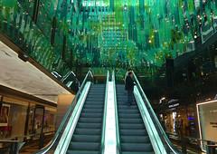 Sea of Green (PhotosbyDi) Tags: stcollinslane melbourne architecture decor green panasoniclumix panasonicfz300 lumixfz300 novotel