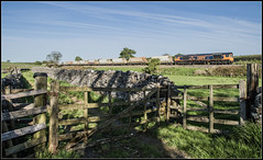 Gateway to the Dales (Blaydon52C) Tags: rylstone gbrf gbrailfreight railway rail railways railfreight trains train transport 66759 6d87 cracoe yorkshire yorkshiredales locomotive locomotives loco