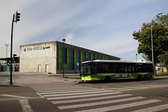 Bus in Vigo (Krzysztof D.) Tags: europa europe spain hiszpania galicia vigo miasto city architecture architektura street station stacja dworzec bahnhof transport transportation transportpubliczny bus autobus