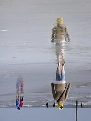 Strandwanderer; St. Peter-Ording, Eiderstedt (1) (Chironius) Tags: schleswigholstein deutschland germany allemagne alemania germania германия niemcy nordsee merdunord mardelnorte northsea spiegelung refleksion reflection réflexion riflessione отражение reflexión yansıma peterording stpeterording see meer nordfriesland eiderstedt