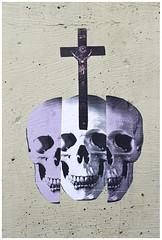 APILLARCLOSE (Rage5) Tags: rage5 rage dhs gang wheatpaste poster posters streetart photocopy skull