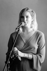 DSC_2527 B&W Gemma Griffiths Singer Songwriter from Cape Town South Africa EP My Town Album Launch at the Prestigious Library Club St Martin's Lane London (photographer695) Tags: gemma griffiths singer songwriter from cape town south africa ep my album launch prestigious library club st martins lane london