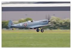 Supermarine Spitfire at Wellebourne Airfield (cheffievrs) Tags: 1dxmarkii aircraft airfield areodrome aviation borderfx canon ef600mmf4lisii hanger11 pl965 spitfire supermarine warwickshire wellesbourneairfield