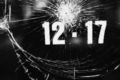 Shattered Mystery 261.365 (ewitsoe) Tags: 50mm canon canoneos6dii ewitsoe poalnd polska street warszawa erikwitsoe warsaw mysterynumber 1217 365project bnw blackandwhite mono monochrome city glasss broken shattered