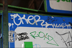 Oker (Alex Ellison) Tags: oker gsd southlondon urban graffiti graff boobs