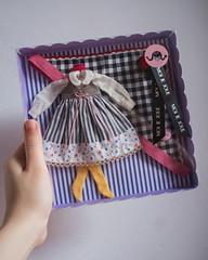 New packaging. (Moi Je Joue.) Tags: blythe doll bambola fashiondoll handmade sewing