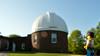 Observing the Observatory (144/365) (robjvale) Tags: nikon d3200 adventurerjoe lego project365 observatory flare sunny blue middletown universityofwesleyan