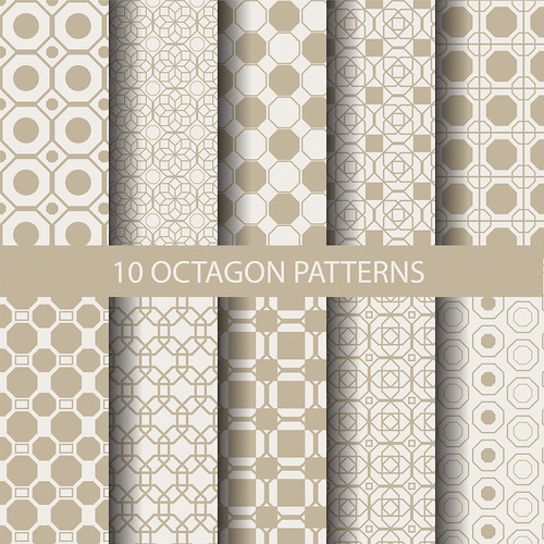 "10 octagon patterns • <a style=""font-size:0.8em;"" href=""http://www.flickr.com/photos/151084956@N05/27815812418/"" target=""_blank"">View on Flickr</a>"