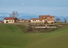 Toscane (Jolivillage) Tags: jolivillage paysage paesaggio landscape sienne siena toscane toscana tuscany italie italy italia europe europa vert verde green picturesque geotagged maisons houses case