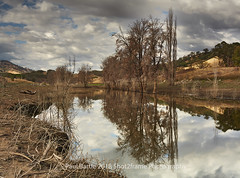 Anderson's Flat - Nundle Area - NSW (paulbartle - Shot2frame Photography) Tags: peelriver nundle tamworth andersonsflat nisi reflections deadtrees chaffeydam bowlingalleypoint newsouthwales nsw australia plains northwestslopesandplains shot2frame shot2framephotography canon 5dmk3 canon5dmk3 visittamworth visitnsw