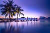 Tropical sunset (icemanphotos) Tags: paradise solitude sunset exotic luxurious relax inspire