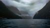 Drunken Fjord (MrTheEdge7) Tags: newzealand fiord fjord sound milfordsound milford mountain mountains mountainrange sheer rock fjordland fiordland queenstown teanau southisland fiordlandnationalpark piopiotahi maori blur clouds tasmansea