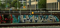 trackside graffiti (wojofoto) Tags: graffiti nederland netherland holland trackside railway spoorweg wojofoto wolfgangjosten htl htls