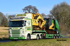 H.R.N TRACTORS LTD SCANIA HIGHLINE R440 SV60 AVD (Darren (Denzil) Green) Tags: hrntractorsltd broshuistrailers aberdeenshire inch johndeere tractor tractortrailers lowloader scaniatrucks sv60avd r440 highline scania hrn