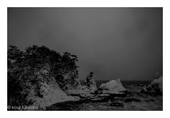 sasagawanagare...sea of japan (kouji fujiwara) Tags: sigmadp2 sigma dp2 winter sea seascape seaofjapan japan 笹川流れ abstract