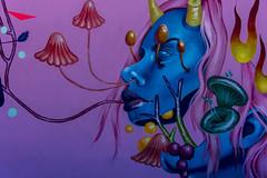 sea hag (Greg Rohan) Tags: bondibeach bondi sydney spraycanart spraypaintart paintedstreetwalls paintedstreetart aerosolart urbanstreetart streetart urbanart urban d750 nikon nikkor 2018 arte art artist artwork