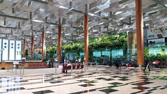 Singapore Changi Airport, Terminal 3 (SunnyGo) Tags: singapore changi airport flying flight building trees nature airplane vacation holiday international
