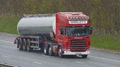 DX55 BVR (panmanstan) Tags: scania r500 wagon truck lorry commercial bulk freight tanker transport haulage vehicle a1m fairburn yorkshire