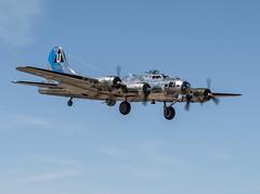 B-17G Gear Down (dcnelson1898) Tags: glendale phoenix arizona 2018lukedays lukeairforcebase airshow airplanes aviation warbirds worldwar2 worldwarii history militaryhistory flight