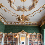 The Library ceiling - Wrest Park , Bedfordshire thumbnail