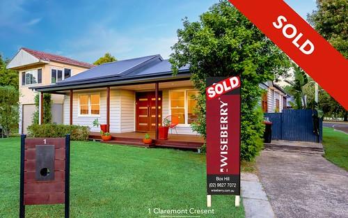 1 Claremont Crescent, Windsor NSW