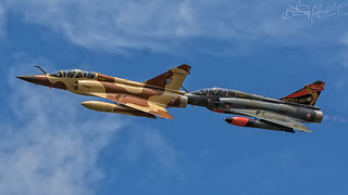 French Air Force Dassault Mirage 2000D 652 & 618 Couteau Delta-2