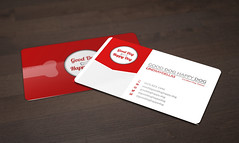 Free Business Card Mock (Onnax) Tags: business card