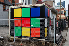 Giant Rubik's Cube (Bracus Triticum) Tags: giant rubiks cube calgary カルガリー アルバータ州 alberta canada カナダ 3月 弥生 さんがつ yayoi newlifemonth 2018 平成30年 spring march 三月 sangatsu