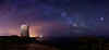 Torre de Cabo Blanco (carloscarriónsánchez) Tags: milkyway stars clouds llucmajor mallorca baleares víaláctea nocturna noche noctógrafos estrellas panorámica