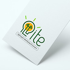 Lite  logo (graphic_panda) Tags: logo light branding promotion graphic design graphipanda