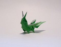 Carbuncle from Final Fantasy XIV Folded by Me (Origami.me) Tags: origami origamiart origamis origamifun paper papercraft papercrafts craft crafts diy art papers paperart papercut fold folded folding folds folders folder finalfantasy final fantasy finalfantasyxiv ffxiv carbuncle